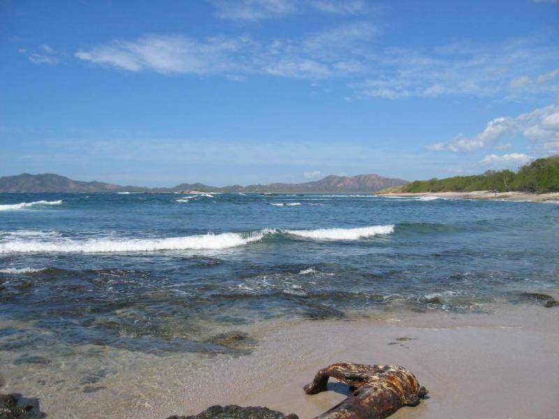 Quiet Playa Langosta Beach