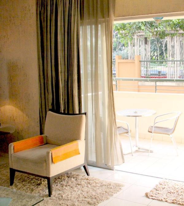 Vista della zona Living con balcone aperto