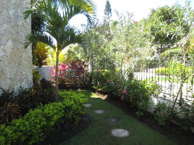 Gardens around the house
