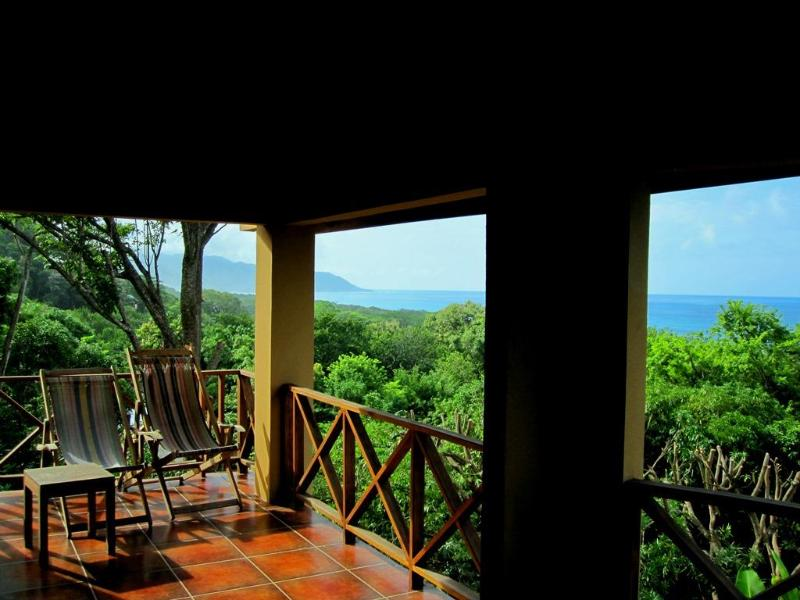 View from 2nd floor terrace, check the surf and enjoy the ocean breeze