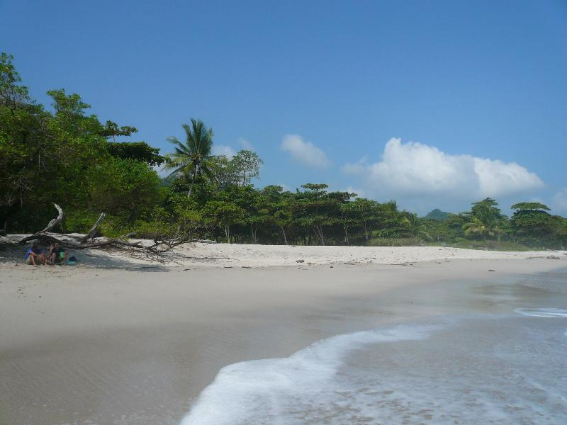 more beach: this is the access from Casa Mango