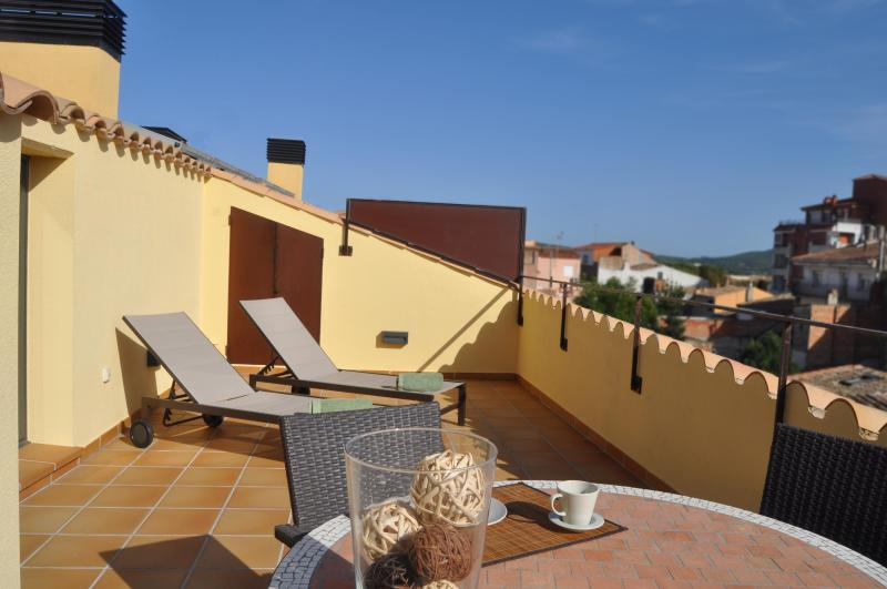 CAN TARONGETA - Sunny Penthouse 2-1, vacation rental in Palafrugell