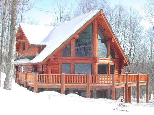 Great skiing on Schuss Mountain is just steps away from your private chalet with hot tub and lg deck
