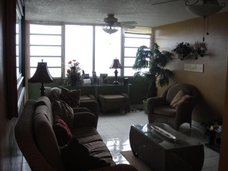 28th floor ocean front condo, expectacular view, holiday rental in Luis M. Cintron