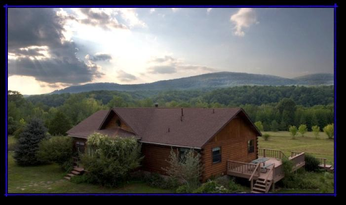 Beautiful private setting in the Ozark Mountains on the Little Buffalo River in Northwest Arkansas.