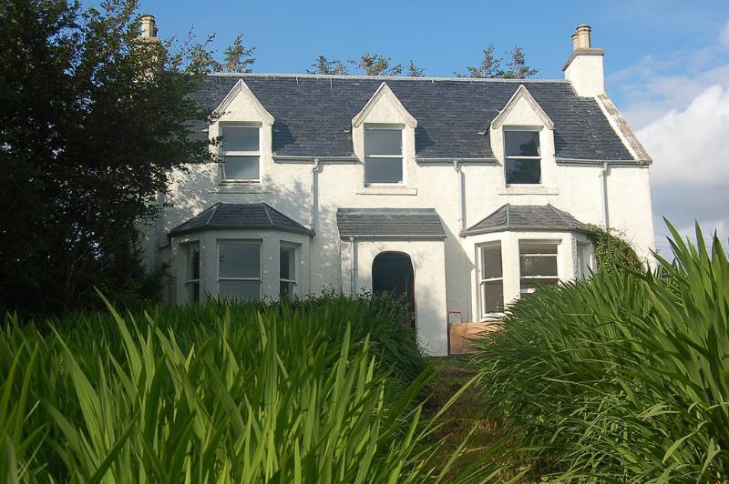 Greenhill - magnífica casa sin cocina crofters 'en un terreno de jardín privada aislada
