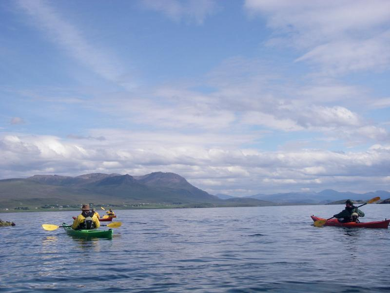Sea Kayaking in the bay
