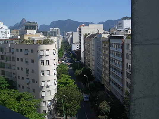 view Ipanema, main street