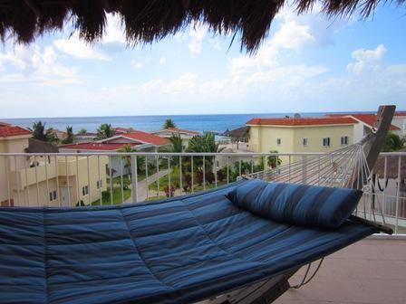 Beautiful ocean view from Villa Patti's 3rd floor terrace