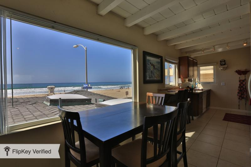 Gorgeous Ocean Front View from the Living Room!!