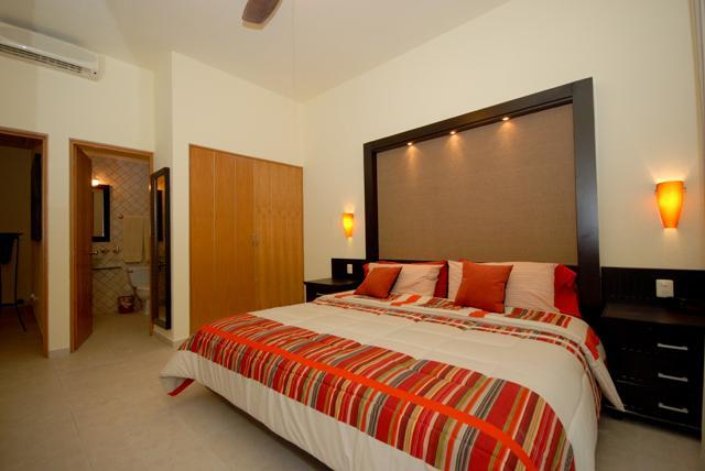 Master Bedroom with Adjoining Bath