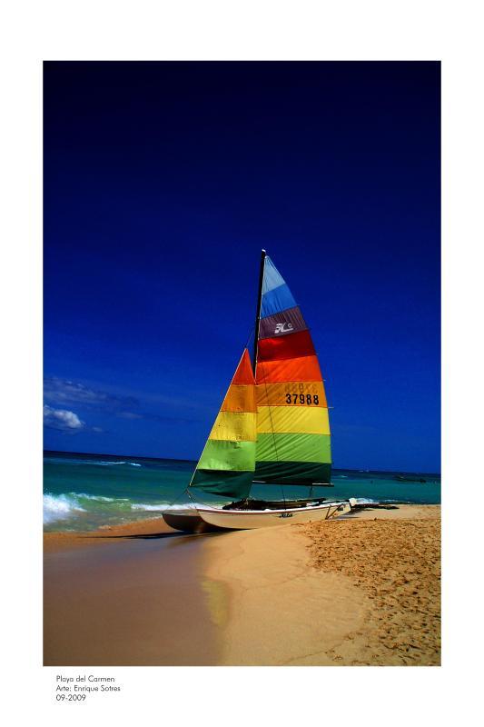 Catamaran at Kool Beach