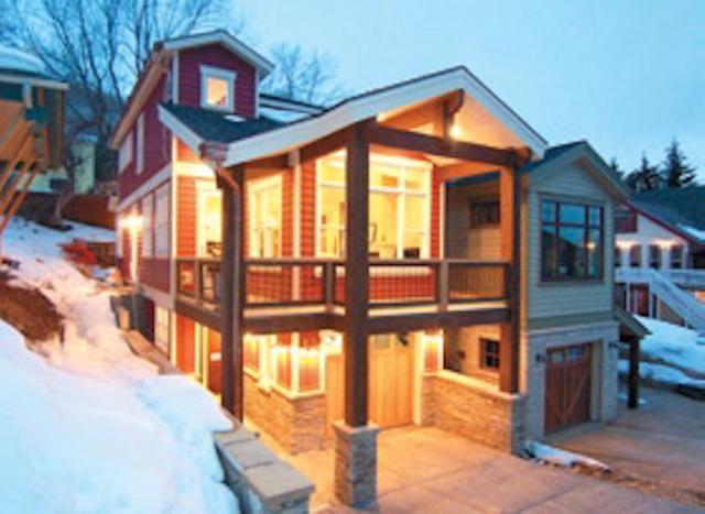 Hermosa casa de lujo en inmejorable Park City - pasos para esquiar y Main street