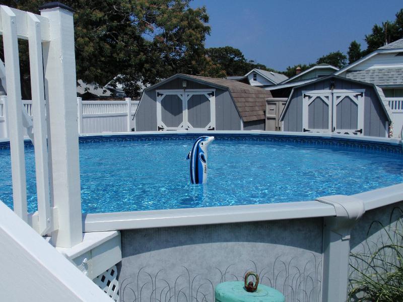 21 Fuß über dem Boden Schwimmbad