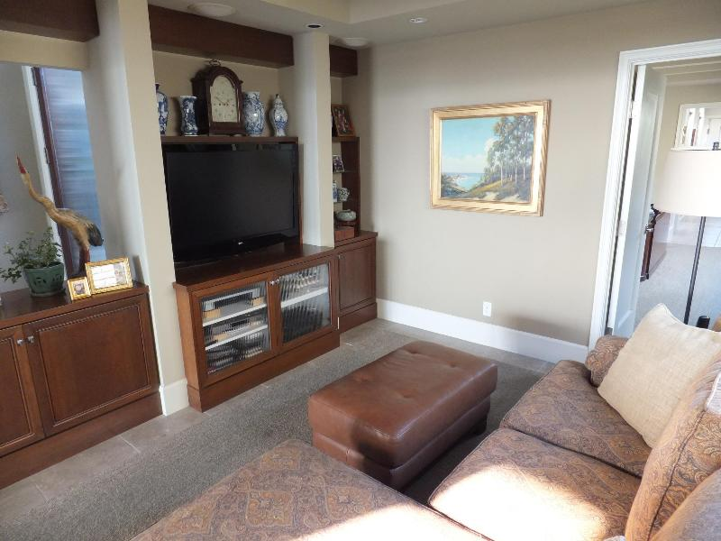 television room with large LCD TV and cable, DVR, Netflix, Amazon. Excellent Wi-Fi throughout.