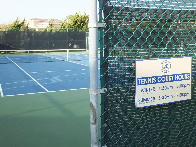 4 tennis courts at clubhouse
