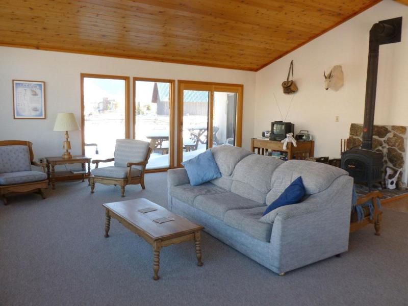 Large living area with ample seating