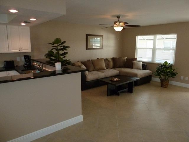Spacious Living room with open floor plan