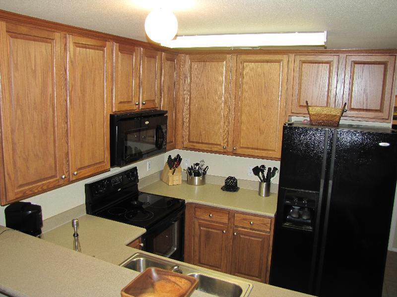 Well equiped kitchen with everything you need.