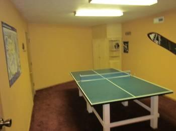 Ping pong room!
