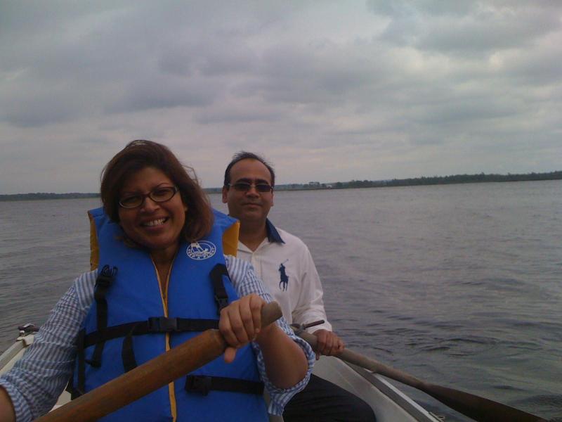 disfrutar de paseos en bote