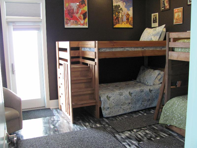 Guest Room with Five Bunks