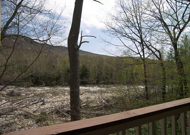Early Spring View from the Deck