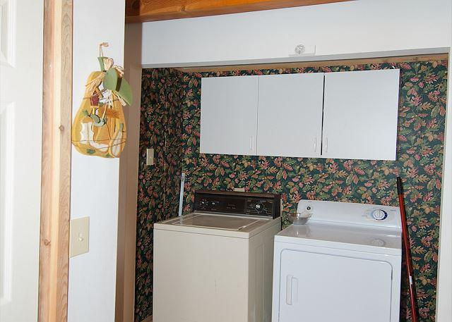 Laundry facility with easy access!