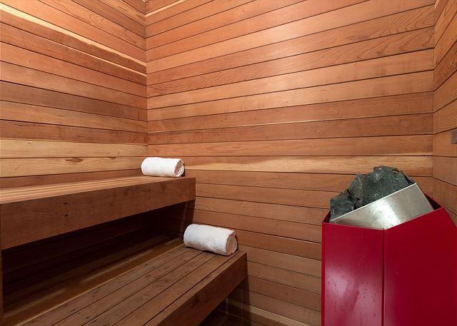 Darwin E - sauna (upstairs)