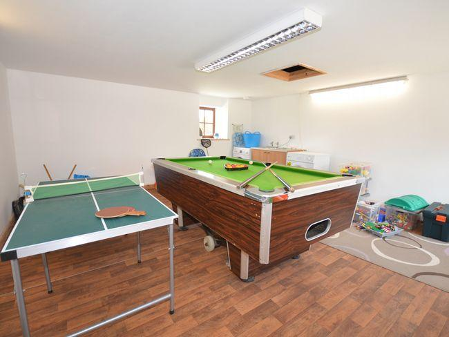 Shared games room next door