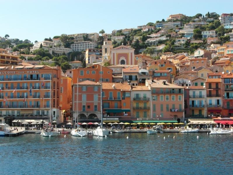 The beautiful fishing town of Villefranche-sur-Mer on the French Riviera.