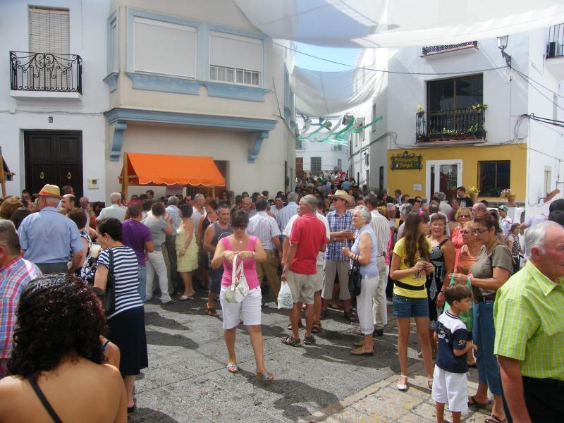Fiesta in Alozaina