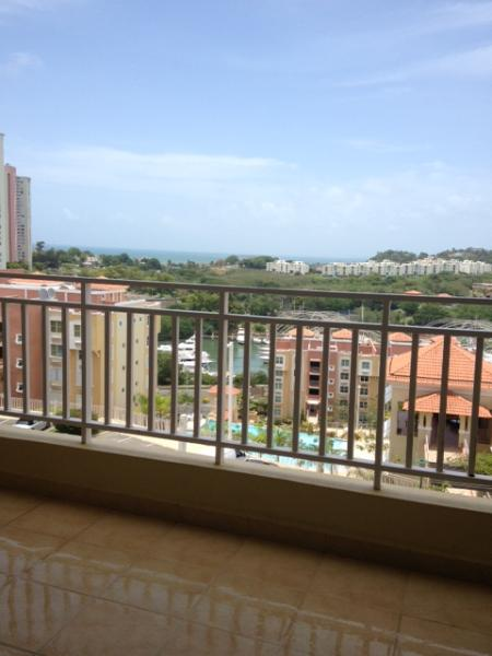 balcony view south side