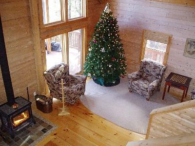 9 ft Christmas tree!