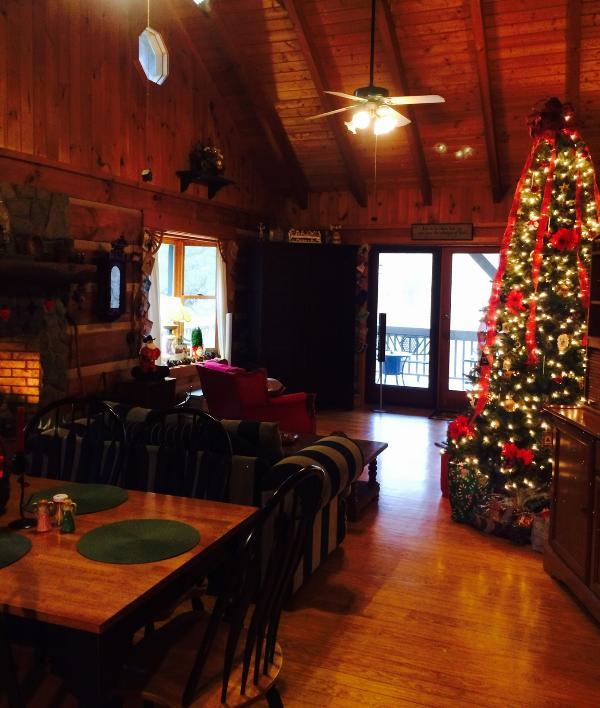 Holidays are even more special in the mountains