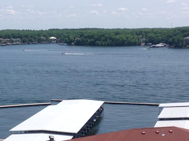 Breathtaking views of the lake's main channel from our deck!