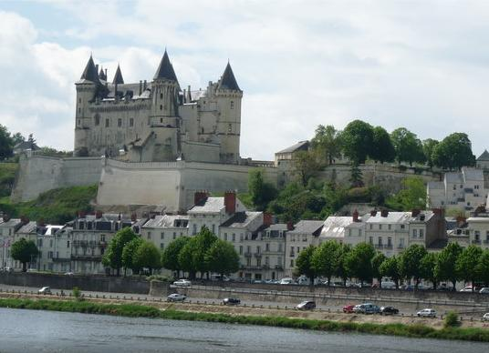The Chateau of Saumur onthe banks of the Loire.  Only15 mins drive from the Cottage.