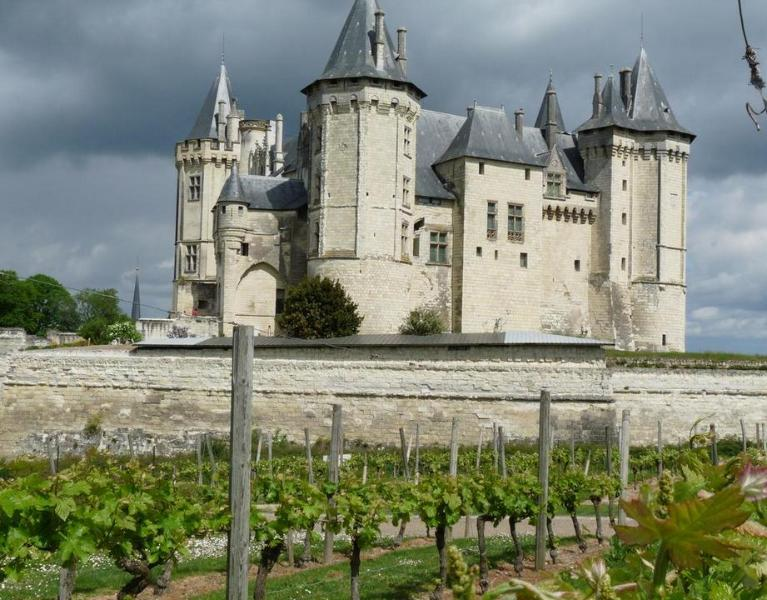 The Chateau of Saumur on the banks of the Loire.  Only15 mins drive from the Cottage.