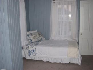 The third bed in the 'Blue Room'.