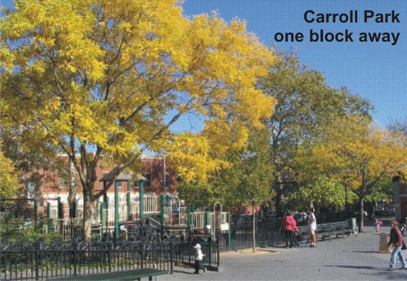 Our Pride Carroll Park a block away