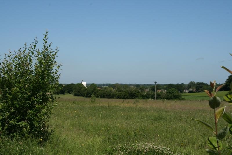 A short walk away, the local wildlife reserve, Sid's Piece, has views beyond Stanton Mill.