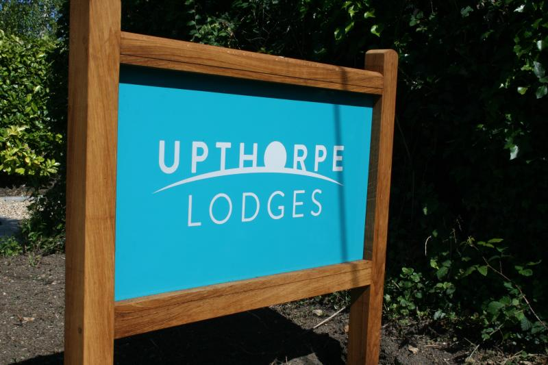 Upthorpe Lodges provide a private and quiet holiday retreat.