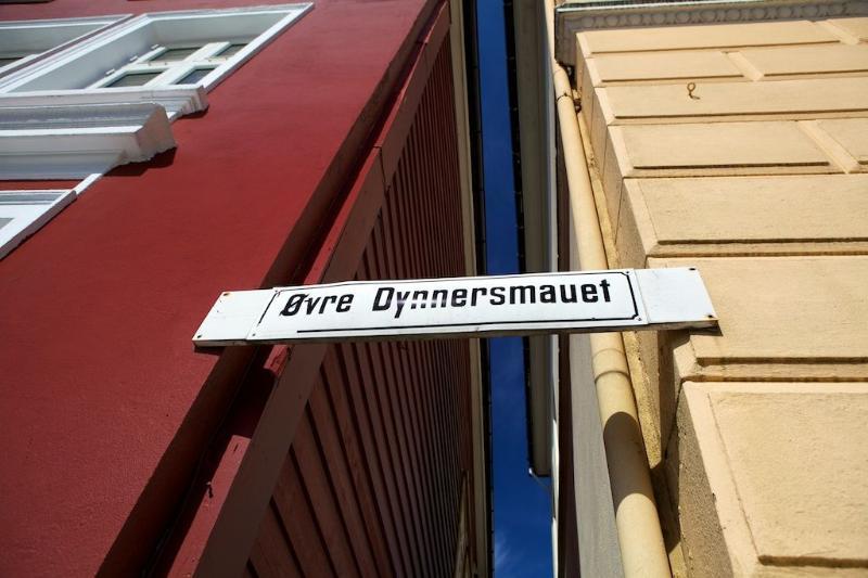 The smallest street in Bergen