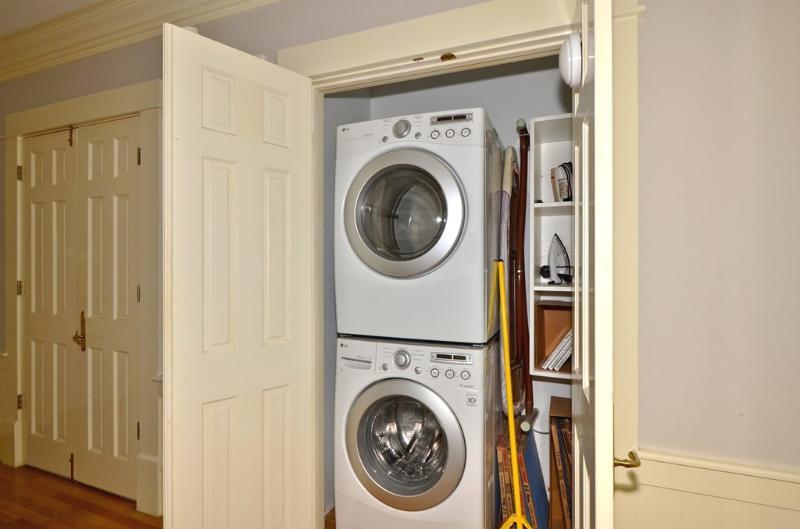 Shared Laundry Closet