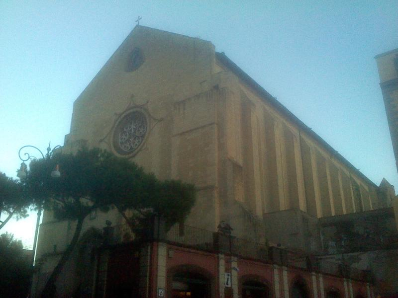 The Church of Santa Chiara in 300 meters from home