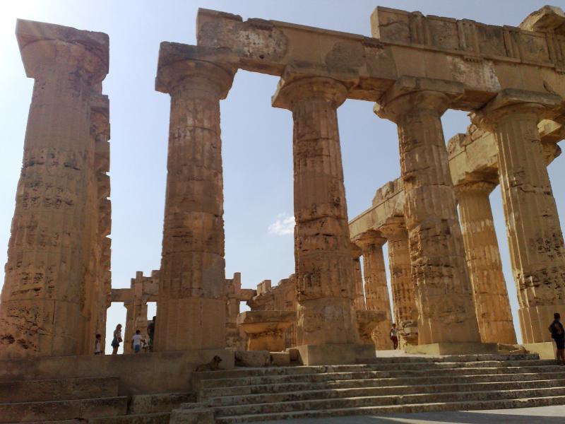ruins Segesta