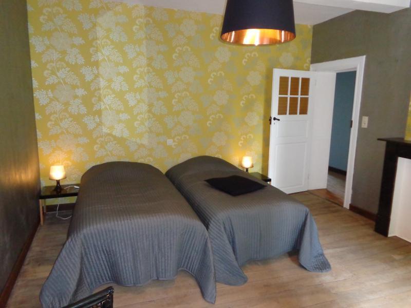 Chambre avant, 1er étage, 2 lits jumeaux 90/200cm