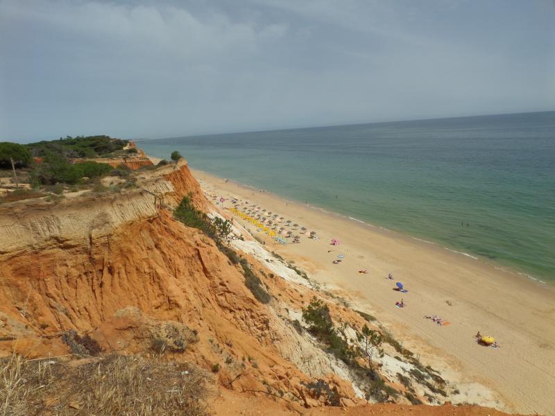 The beauiful beach of Praia de Falesia