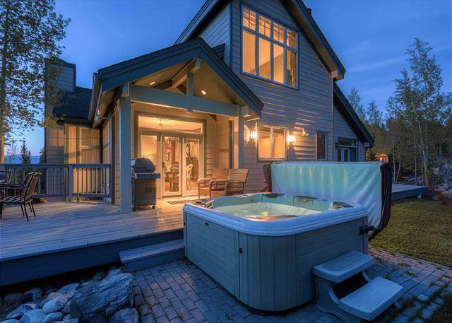 Boulder Ridge Haus Hot Tub Breckenridge Lodging Luxury
