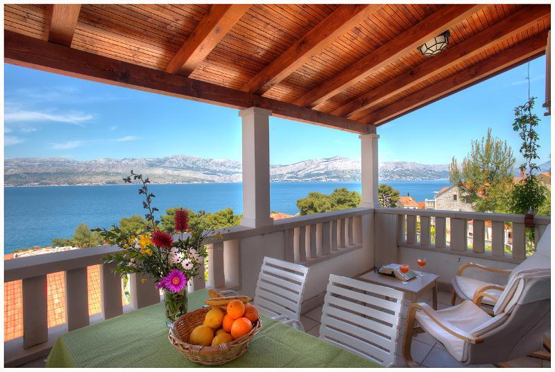 Viilla Stella C2 beautiful sea view, holiday rental in Postira